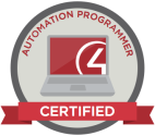 Control4 Automation Programmer Certification Badge
